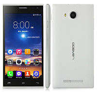Стильный cмартфон Leagoo Lead 5, 4 ядерный, 4GB 2SIM Android 4.4 Black, White