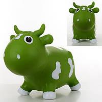 Игрушка-прыгун «Зеленая коровка» MS 1565