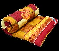 Двуспальное одеяло на овчине Код дво4