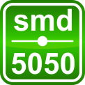 Лента светодиодная 7,2W SMD5050 Белый (30 LED/м) Outdoor IP64, фото 3