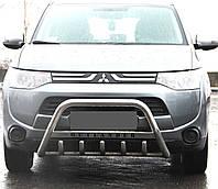 Кенгурятник WT на Mitsubishi Outlander (с 2012--) Митсубиси Аутлендер PRS