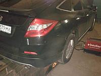 Прямоточный глушитель на Хонда Аккорд