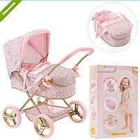 Стильная коляска для кукол D-86486 HAUCK By Little Diva Германия, коляска 86486 с люлькой