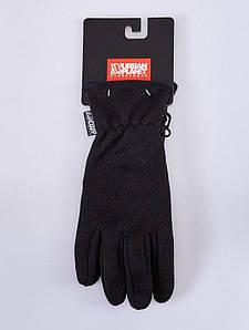 Сенсорные зимние перчатки Urban Planet KNITED BLK