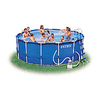 Бассейн каркасный Intex 54946 457х122 см насос + фильтр и все аксессуары 28236