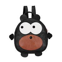 Черный детский рюкзак Медвежонок