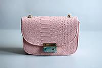 Розовая женская сумка ,кроссбоди,уценка