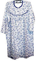 Ночная рубашка теплая на байке Турция размер XL (наш 54-56)