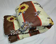 Двуспальное одеяло на овчине Код дво14