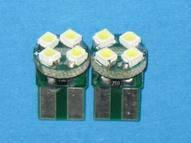 Автосветодиод T10-WG-4SMD-12V(PCB)