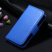 Apple iPhone 5G Чехол книга синяя, фото 1