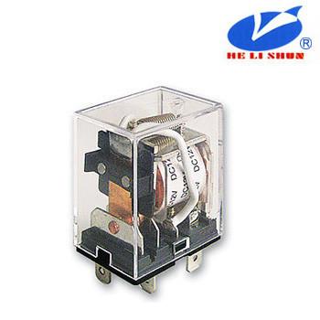 HLS-13F-2  РЕЛЕ (24VDC) ток-10A / контакты-2С