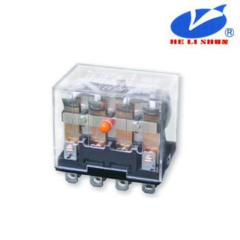 HLS-13F-4 РЕЛЕ (24VDC) ток-10A / контакты-4С