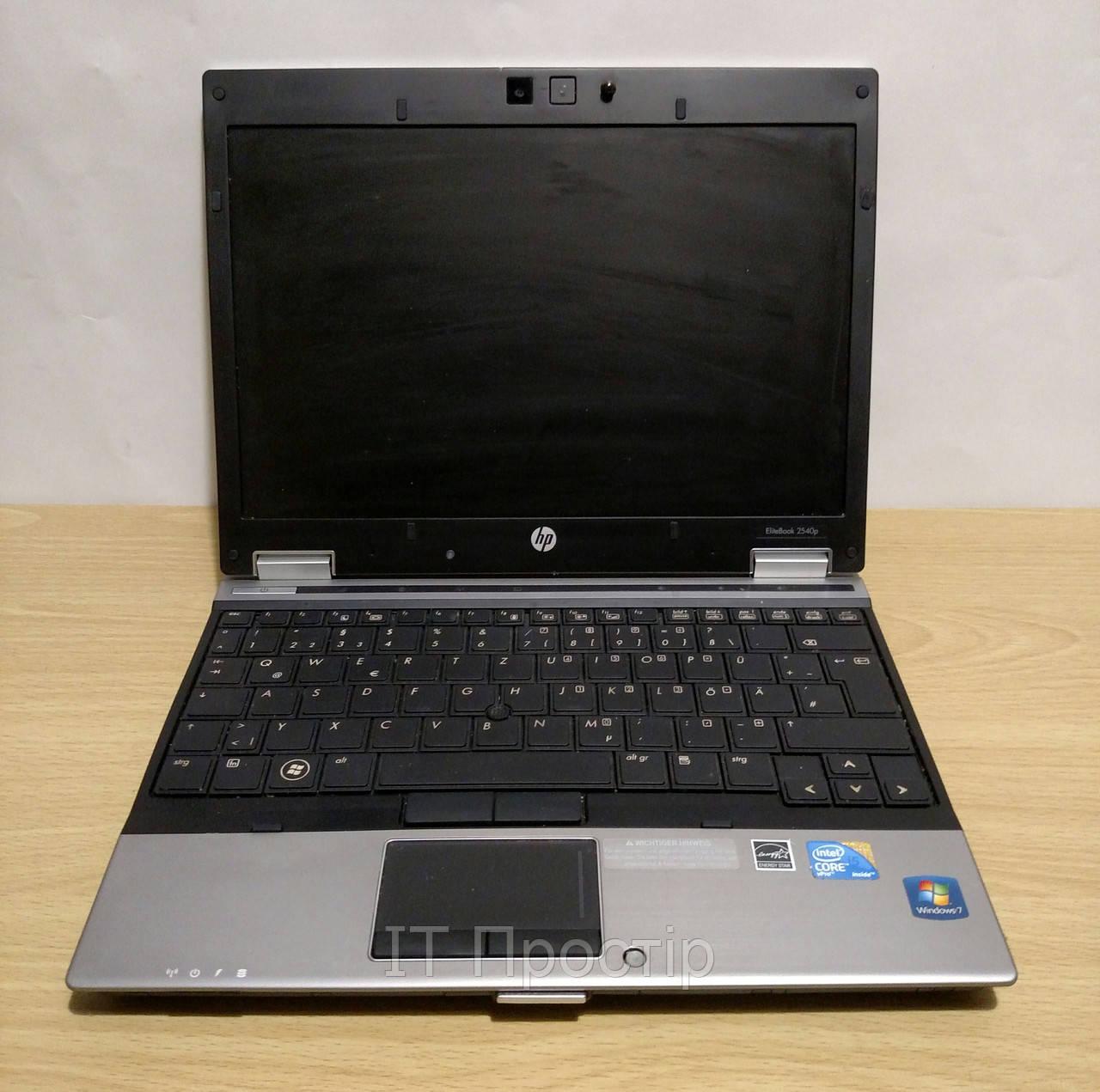 HP Elitebook 2540p/12