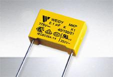 CLASS X1-MEX  0,22 mkf-300 VAC (±10%)  P:15mm