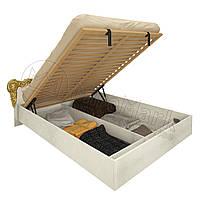 Спальня Дженифер радика беж кровать 1,60*2,00 подъемная мягкая спинка с каркасом