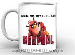 Кружка Злые Птицы Angry Birds Redpool