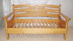 """Кухонный диван - малютка """"Луи Дюпон - 2"""" (1250*650мм). Массив - сосна, ольха, береза, дуб., фото 2"""