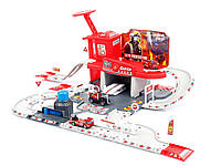 Пожарный участок с гаражом и треком марки Kinderplay