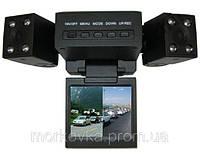 Видеорегистратор автомобильный DVR H3000 2 камеры,  H-3000, H 3000