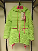 Детская демисезонная куртка для девочек ТМ Люксик