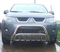 Кенгурятник на Mitsubishi Outlander XL (2006-2012) Митсубиси Аутлендер PRS