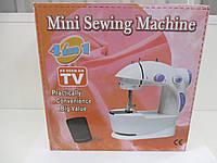 Портативная мини швейная машинка 4 в 1 Mini Sewing Machine
