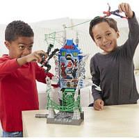 Игровой набор Человек-паук город паутины Marvel Spider-Man Web City Showdown Play Set