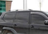 Рейлинги на крышу Toyota LС 120 Prado (Хром)