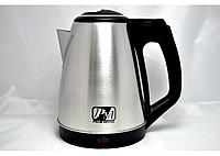 Чайник электрический 1,8 литра (нержавейка).
