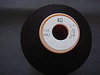 Нитки gutermann tera №40 4000 метров цвет 682