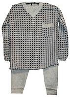 Пижама на байке мужская Турция размер М (наш 46-48)