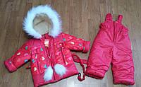 РАСПРОДАЖА! Комбинезон зимний для девочек.