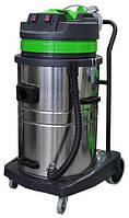 Профессиональный пылеводосос 2-х турбинный 70л. для сухой и влажной уборки