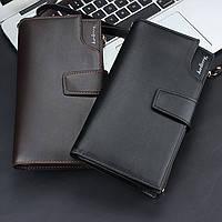 Кожаный портмоне - клатч ручной работы Baellerry Itali мужской кошелек