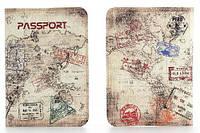Обложка на паспорт из мягкой кожи