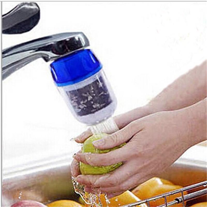 Угольный фильтр на кран для очистки воды