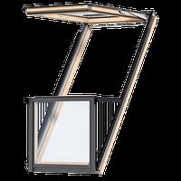 Окно-балкон VELUX CABRIO® GDL