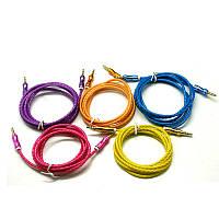 Аудио-кабель AUX 3.5 jack/M/M 1,5м
