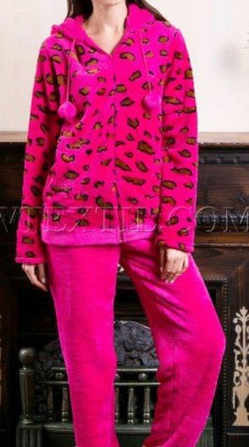 Женская теплая пижама в 6 цветах