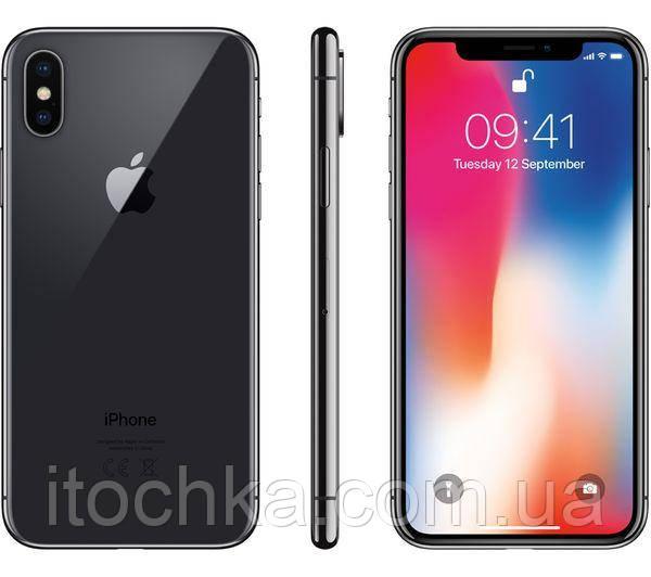 Apple iPhone X 64Gb Space Grey (MQAC2)