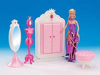 """Мебель """"Gloria"""" 1209 (24шт/2) шкаф-гардероб,напольное зеркало, в кор,39*19*7,5 см"""