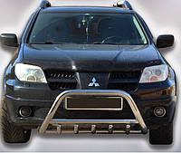 Кенгурятник на Mitsubishi Outlander (2003-2008) Митсубиси Аутлендер PRS