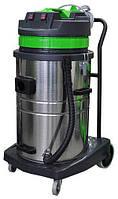 Профессиональный пылеводосос 3-х турбинный 70л. для сухой и влажной уборки