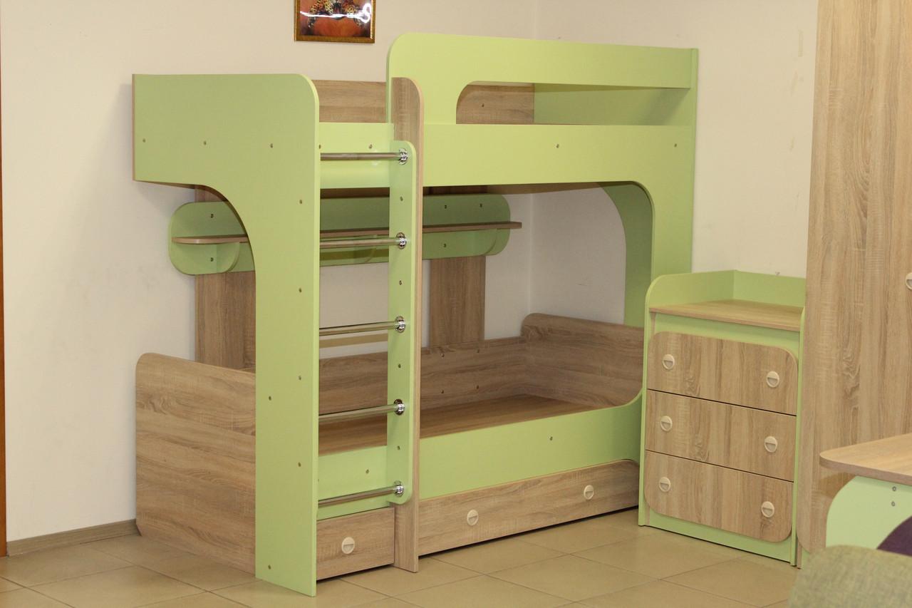 Кровать 2-яруса детская.