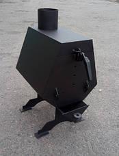 Буржуйка с варочной поверхностью Turbina 50 LuxTerm (сталь 3 мм), фото 3
