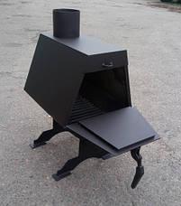 Буржуйка с варочной поверхностью 50 (сталь 3 мм), фото 2