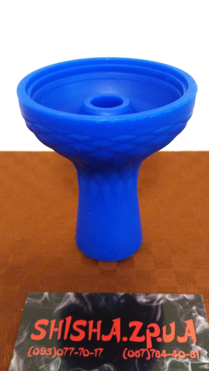 Чаша силиконовая фанел под калауд с бортом  - цвет: Синяя