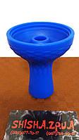 Чаша силиконовая фанел под калауд с бортом  - цвет: Синяя, фото 1