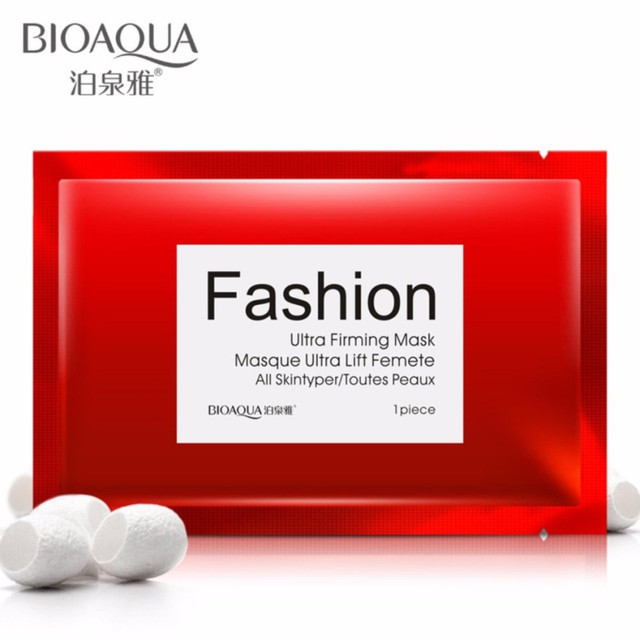 Омолаживающая маска на тканевой основе BIOAQUA Fashion Ultra Firming Mask